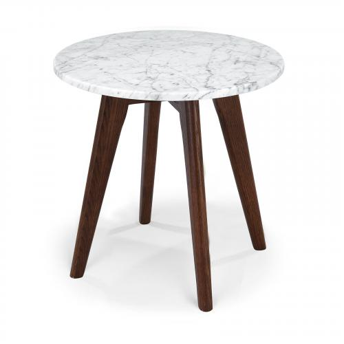 Riley Marble Round Side Table