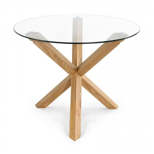 """Kennedy 37.4"""" Round Dining Table"""