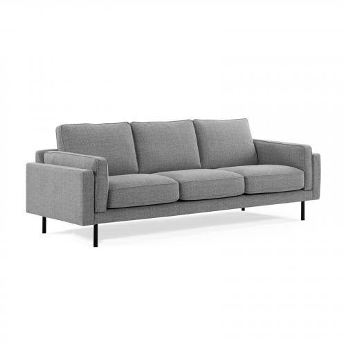 Oslo Sofa in Granite Gray