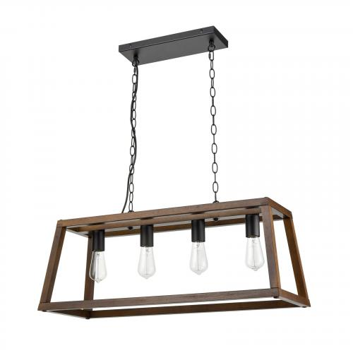 Bristol Wood Pendant Lamp