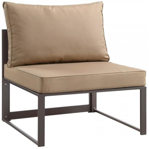 Fortuna Armless Outdoor Patio Sofa