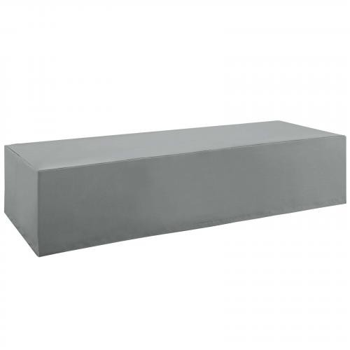 Immerse Convene/Sojourn/Summon Chaise Outdoor Patio Furniture Cover in Gray