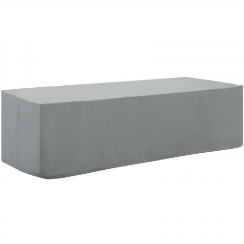 Immerse Convene/Sojourn/Summon Chaise or Sofa Outdoor Patio Furniture Cover in Gray