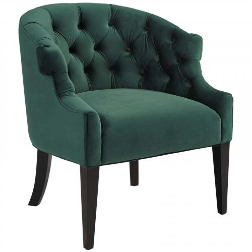 Precept Accent Performance Velvet Armchair