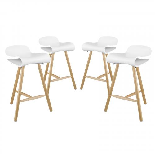 Clip Bar Stool Set of 4