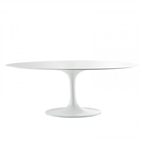 """Eero Saarinen Style Tulip Table - Fiberglass 78"""""""