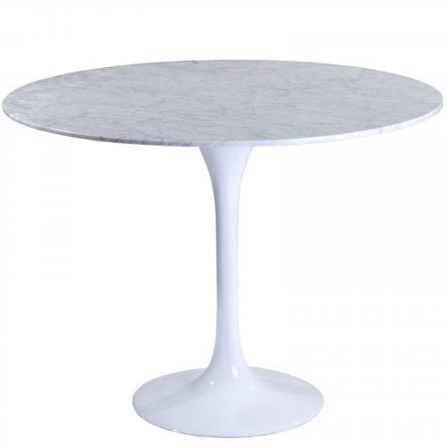 """Eero Saarinen Style Tulip Table - Marble 36"""""""